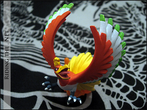 Pokemon HeartGold Nintendo DS Game - limited edition Ho-oh figure