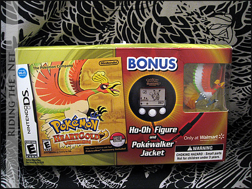 Pokemon HeartGold Nintendo DS Game - Wal-Mart limited edition bundle