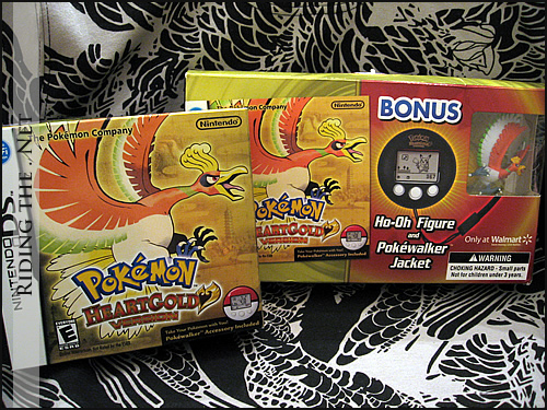 Pokemon HeartGold Nintendo DS Game - Wal-Mart limited edition bundle set
